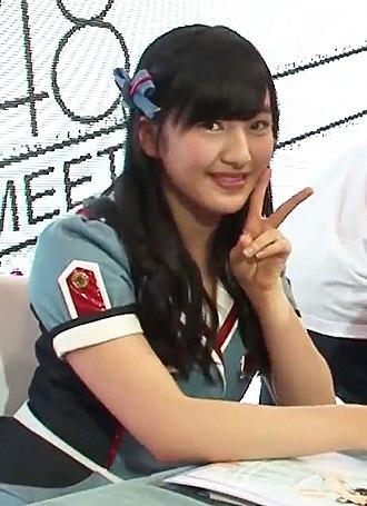 Meru Tashima - Image: HKT48 Fans Meeting 2015 05 12 @ 西九龍中心 (田島芽瑠) 03