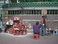HK 九龍 YMT 油麻地 Yaumatei 眾坊街 Public Square Street Temple wall 土地神主牌 2009-12-19.JPG