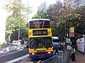 HK Mid-levels 般咸道 Bonham Road Citybus 40 stop near HKU Oct-2011 Ip4.jpg