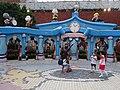 HK Shatin 史諾比開心世界 Snoopy's World blue gate sign n Birchwood School May 2016 DSC (1).JPG