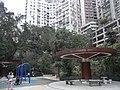 HK Sheung Wan Mid-levels 堅道花園 Caine Road Garden pavilion view Jadestone Court Mar-2011.JPG