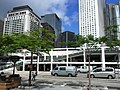 HK Star Ferry Carpark Building view Mandarin Oriental hotel Jardine House May-2012.JPG