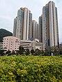 HK TKL 調景嶺 Tiu Keng Leng 彩明街 Choi Ming Street 寶覺中學 Po Kok Secondary School facade February 2019 SSG 01.jpg
