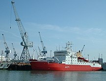 Antarctica-Politics-HMS Endurance, Portsmouth