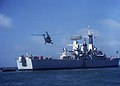 HMS Hermione (F58) (7167080837).jpg