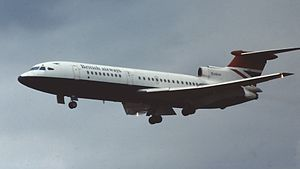 Hawker Siddeley - A Hawker Siddeley Trident.