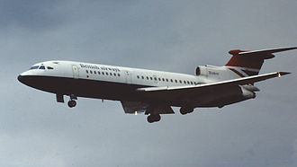 Trijet - The Hawker Siddeley Trident featured an S-duct.