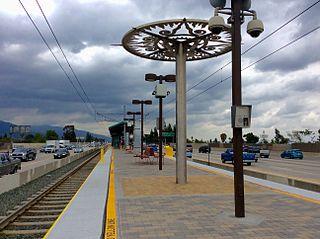 Allen station Los Angeles Metro Rail station