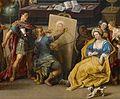 Haecht 2 (cropped - Apelles painting Campaspe).jpg