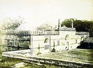 Haibat Khan's Mosque - Haibat Khan's Mosque, photograph published in 1866