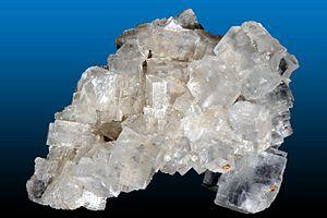Halite - Halite from the Wieliczka salt mine, Małopolskie, Poland