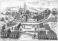 Halle, Belgium, anachronistische voorstelling in Justus Lipsius' Diva Virgo Hallensis.jpg