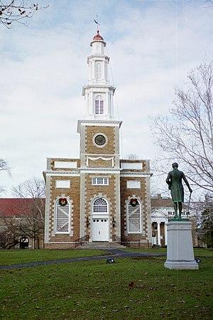 Hamilton College Chapel - Image: Hamilton College Chapel Front