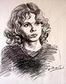 Hans Coumans portret meisje 1974.jpg