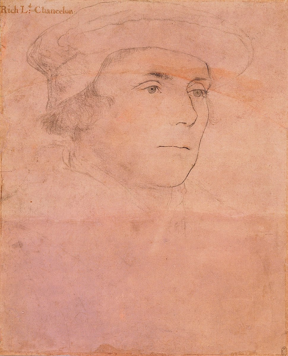 Hans Holbein the Younger - Sir Richard Rich, later 1st Baron Rich RL 12238