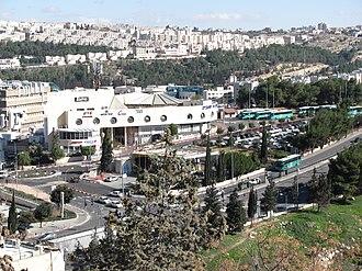 Route 436 (Israel) - Har Hotzvim, 436 at bottom