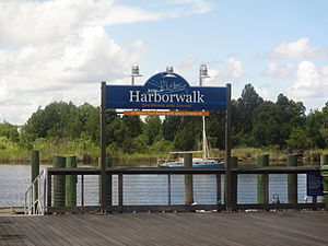 Georgetown, South Carolina - The Harborwalk in Georgetown