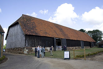 Harmondsworth Great Barn - Exterior of the barn