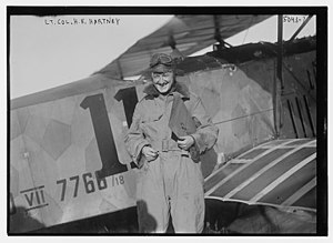Harold Evans Hartney - Hartney in 1919 in his Fokker D.VII at the 1919 Transcontinental Air Race