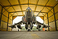 Harrier At Kandahar Prior to Leaving Afghanistan MOD 45150408.jpg