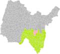 Hauteville-Lompnès (Ain) dans son Arrondissement.png