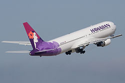 Boeing 767-300ER der Hawaiian Airlines