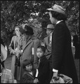 Hayward, California. This family of Japanese ancestry are about to board the bus for an Assembly cen . . . - NARA - 537503.tif