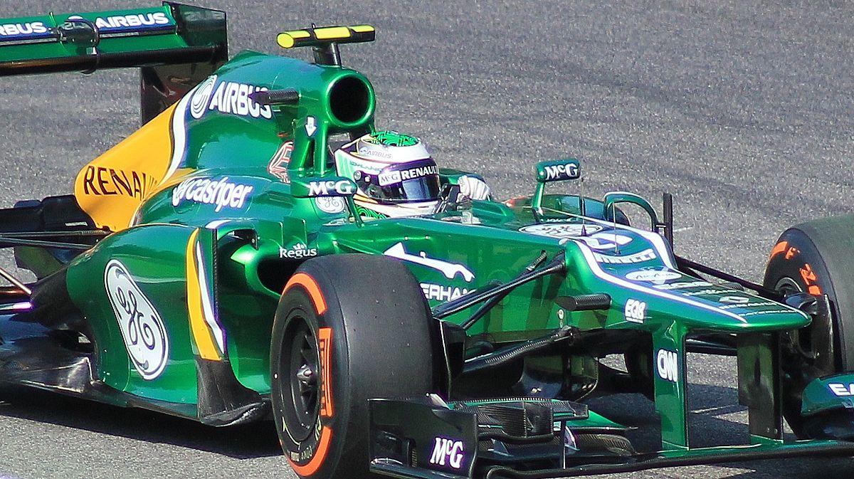 Pirelli P Zero >> Caterham CT03 - Wikipedia