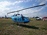 Heliflite (VH-BYJ) Bell 206L-3 LongRanger III on display at the 2015 Australian International Airshow.jpg