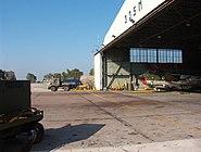 Hellenic Airforce - 335 SQ Repair Hangar - close-up