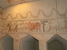 Hellenistic tomb paintings at Sidonian Burial Caves (3).jpg