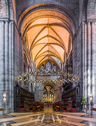 Hereford Cathedral - The choir