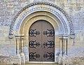 Hermanville-sur-Mer église Saint-Pierre portail.JPG