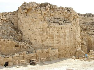 Herodium - Archaeological excavations of Herod's palace