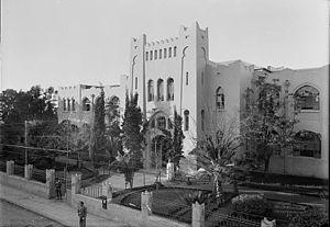 Education in Israel - Herzliya Hebrew High School, 1936