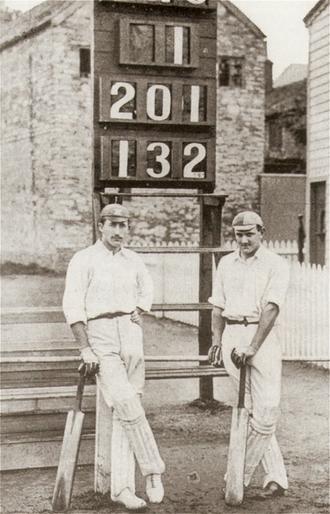 1892 English cricket season - Lionel Palairet and Herbie Hewett of Somerset