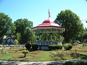 Halifax Public Gardens - Image: Hfx Gardens bandstand