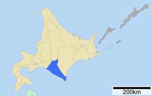 Hidaka Subprefecture - Image: Hidaka Subprefecture