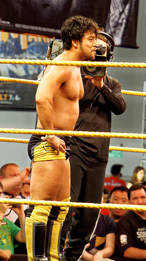 Hideo Itami - Itami at WrestleMania Axxess, March 2015