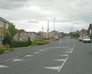 Crigglestone Village and civil parish in West Yorkshire, England