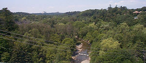 Toronto ravine system - Highland Creek and its associated valley.