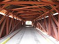 Hillsgrove Covered Bridge Interior in 2012.jpg
