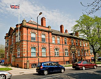 Hindley, Greater Manchester - Image: Hindley Town Hall (1)