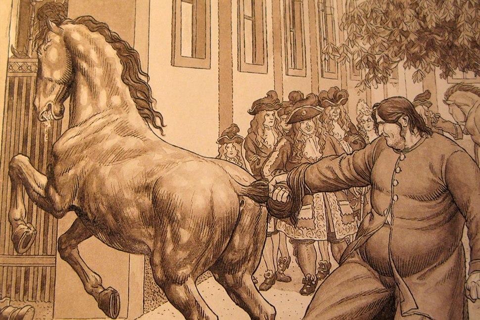 Hinko Smrekar - Ilustracija za knjigo Martin Krpan
