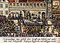 Moderne skildring af den offentlige henrettelse i Prag
