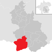Hinterstoder na mapě
