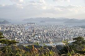 Hiroshima-beautiful view to the city and Inland sea - panoramio