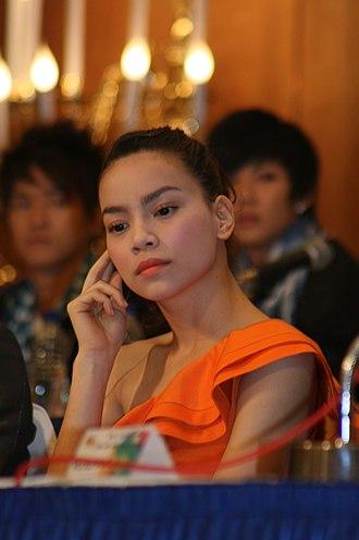 Hồ Ngọc Hà - Image: Ho Ngoc Ha at the 2009 Asia Song Festival 2