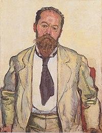 Hodler - Bildnis Mathias Morhardt - 1911.jpeg