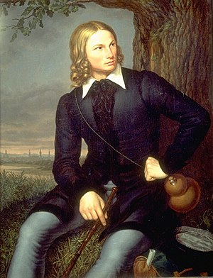 August Heinrich Hoffmann von Fallersleben - August Henrich Hoffmann by Carl Georg Christian Schumacher (1819)